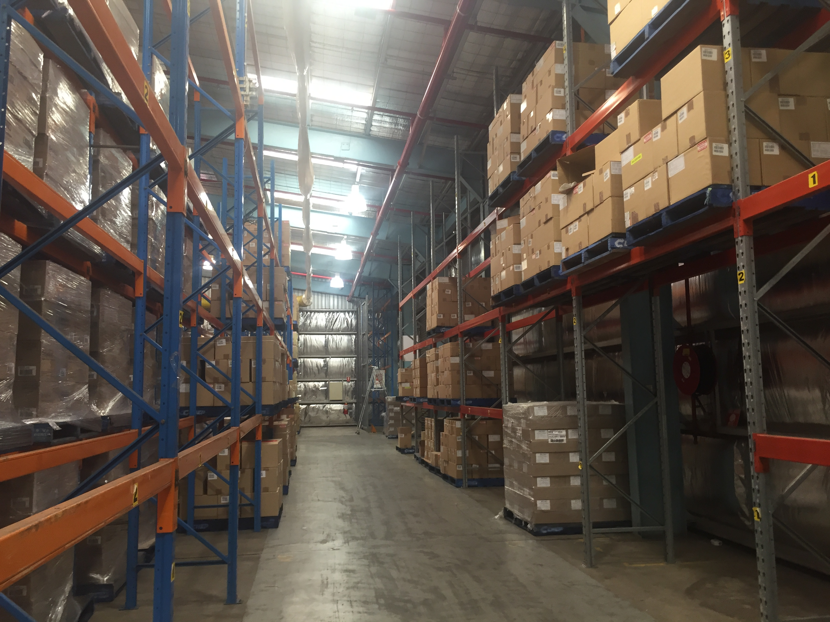 Woolworths and Cold Logic Distribution Centre in Queensland